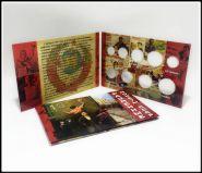 Альбом-планшет блистерный для 9 разменных монет СССР 1961-1991 годов (1, 2, 3, 5, 10, 15, 20, 50 копеек и 1 рубль)