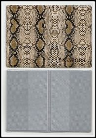 ООбложка для паспорта кожзам АСПИД вариант 5