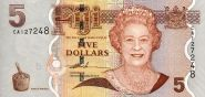 Фиджи 5 долларов ПРЕСС