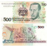 Бразилия 500 крузейро 1990г. UNC пресс