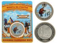 Север России 40 мм монета эксклюзивная