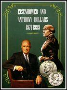 Альбом для долларов Сьюзен Энтони и Эйзенхауэра