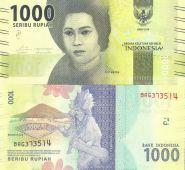 Индонезия 1000 рупий 2016 ПРЕСС